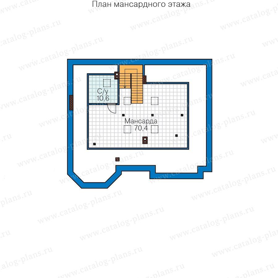 План 4-этажа проекта 40-38AL