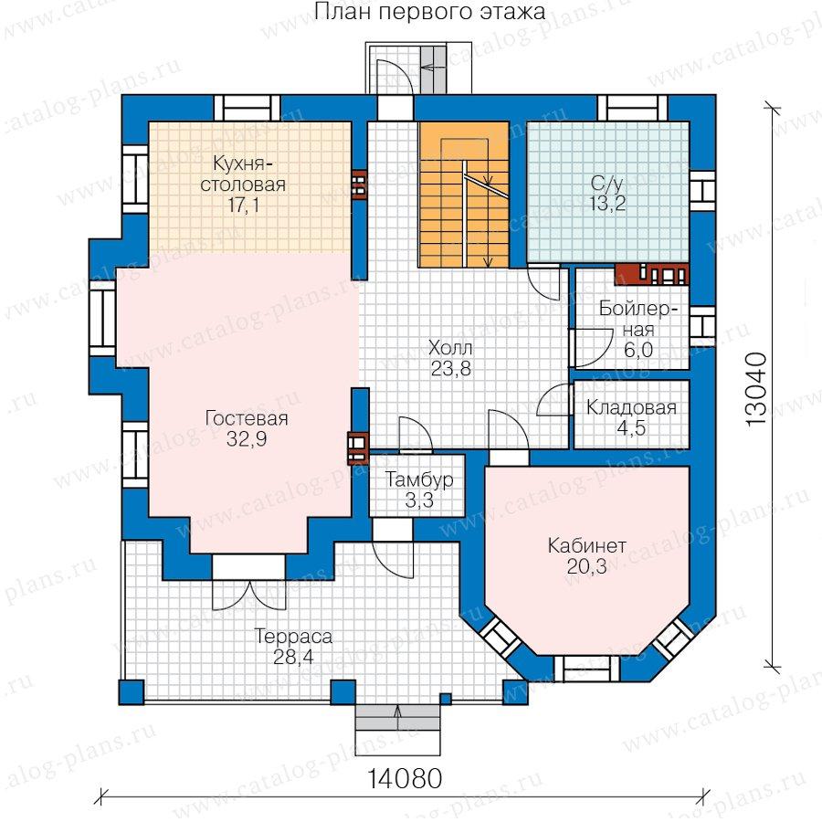 План 2-этажа проекта 40-11RL