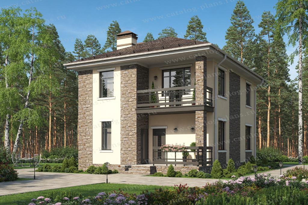 Строительство 1 этажного дома из газобетона