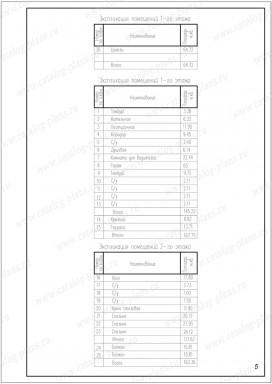 Паспорт проекта - Планы в осях - 4