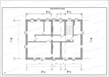 Паспорт проекта - Планы в осях - 3