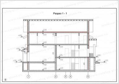 Паспорт проекта - План кровли - 1