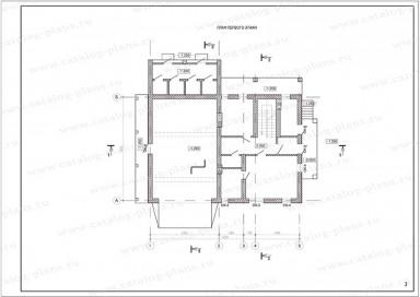 Паспорт проекта - Планы в осях - 2