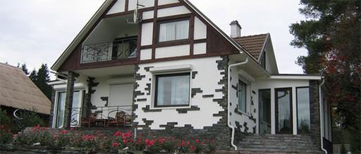 Одеваем каменный дом