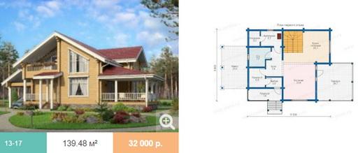 Какой должен быть проект дома из оцилиндрованного бревна?