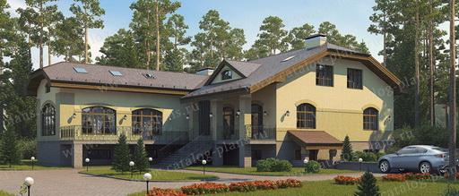 Проекты многокомнатных домов