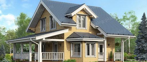 Какой должен быть проект дома из клееного бруса?