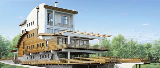 Интересные проекты коттеджей и домов