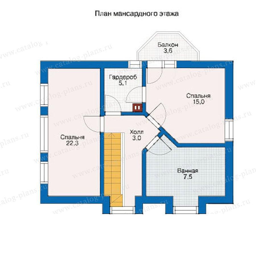План 2-этажа проекта 10-24
