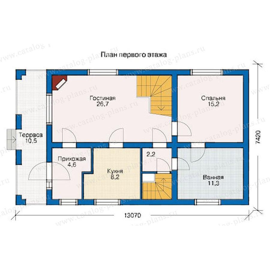 План 2-этажа проекта 10-19