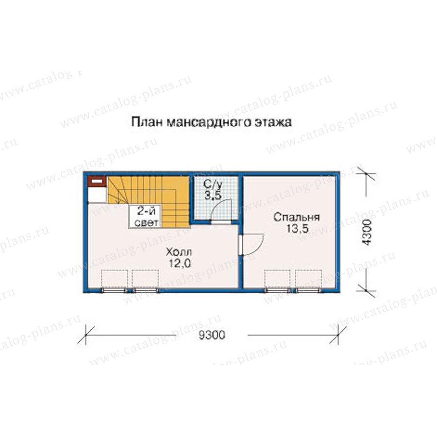 План 2-этажа проекта 10-11