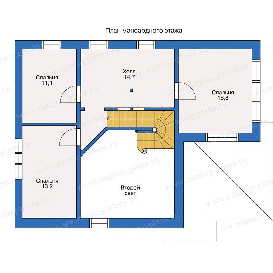 План 2-этажа проекта 10-37