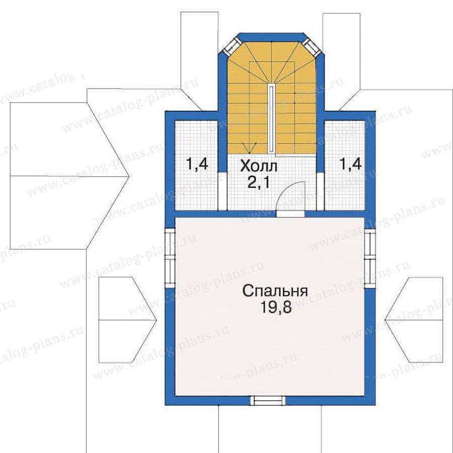 План 4-этажа проекта 10-40