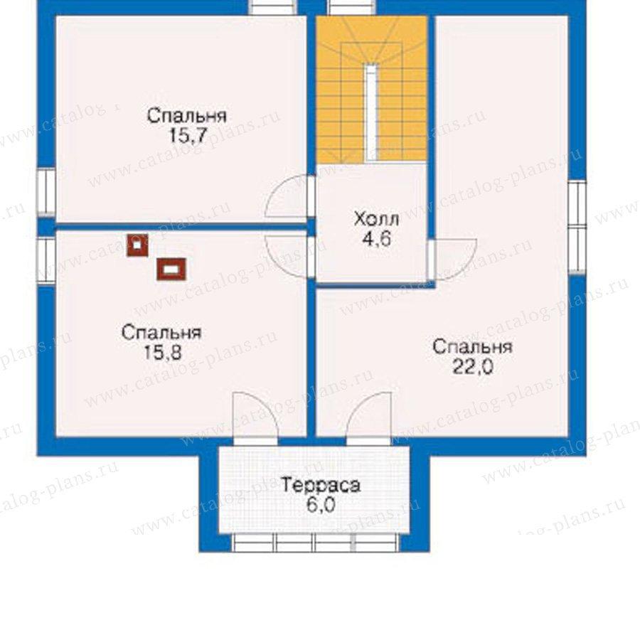 План 3-этажа проекта 10-72