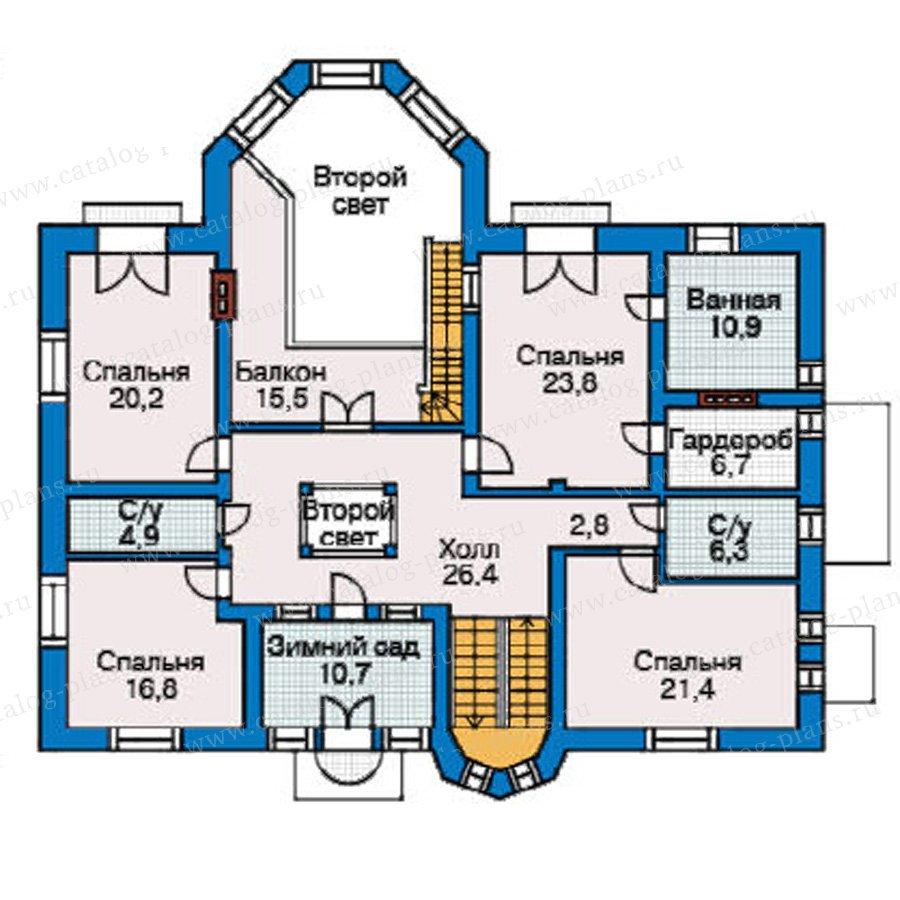 План 3-этажа проекта 31-36