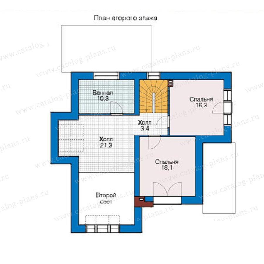 План 2-этажа проекта 49-09