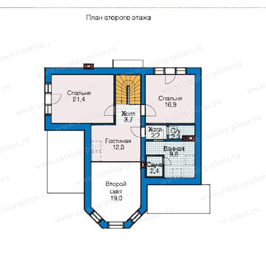План 2-этажа проекта 49-05