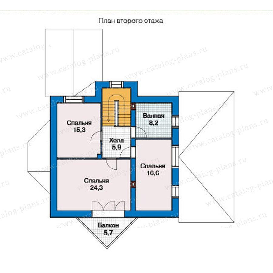 План 2-этажа проекта 49-31