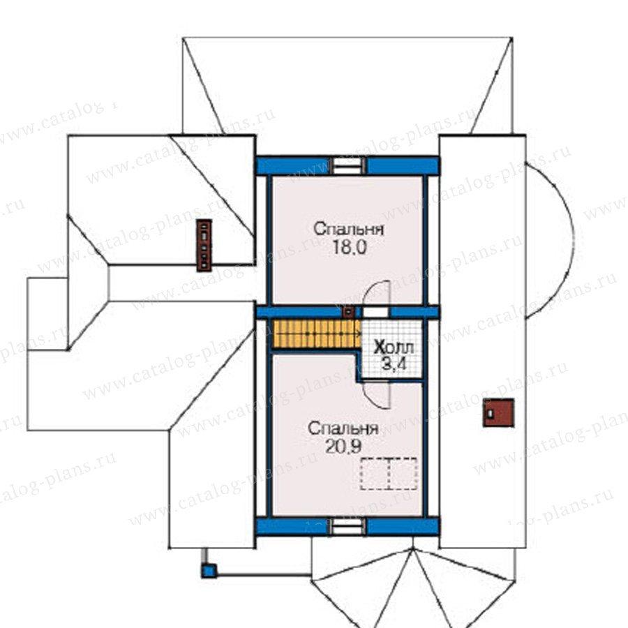 План 3-этажа проекта 49-15