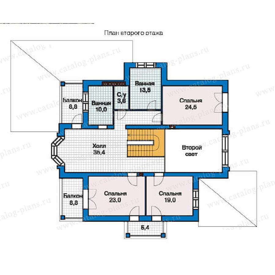 План 2-этажа проекта 49-26