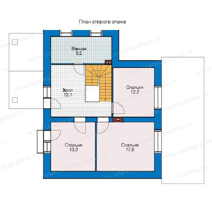 План 2-этажа проекта 49-19