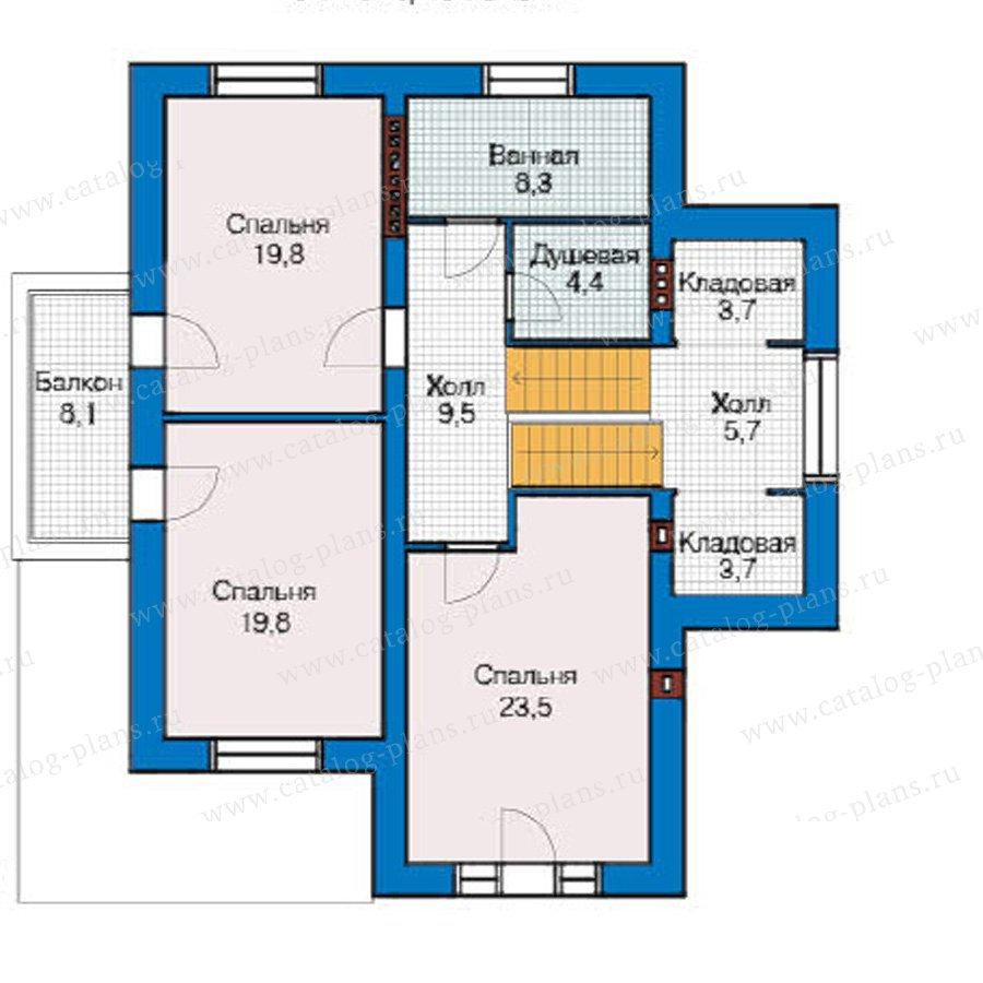 План 3-этажа проекта 49-17