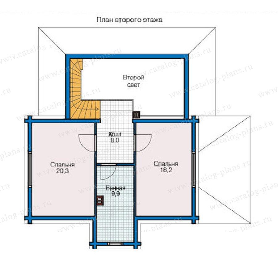 План 2-этажа проекта 49-20