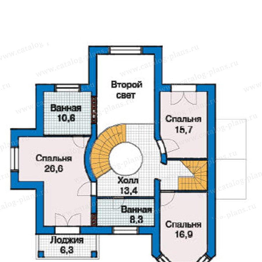 План 2-этажа проекта 49-24