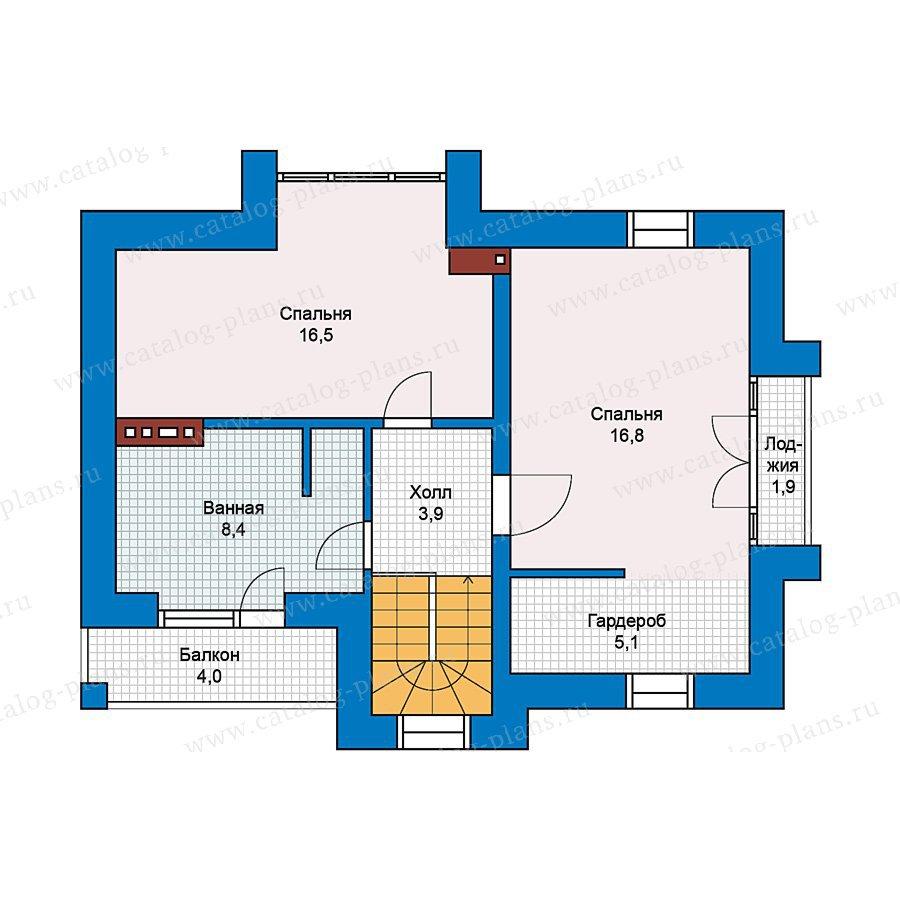 План 2-этажа проекта 49-67