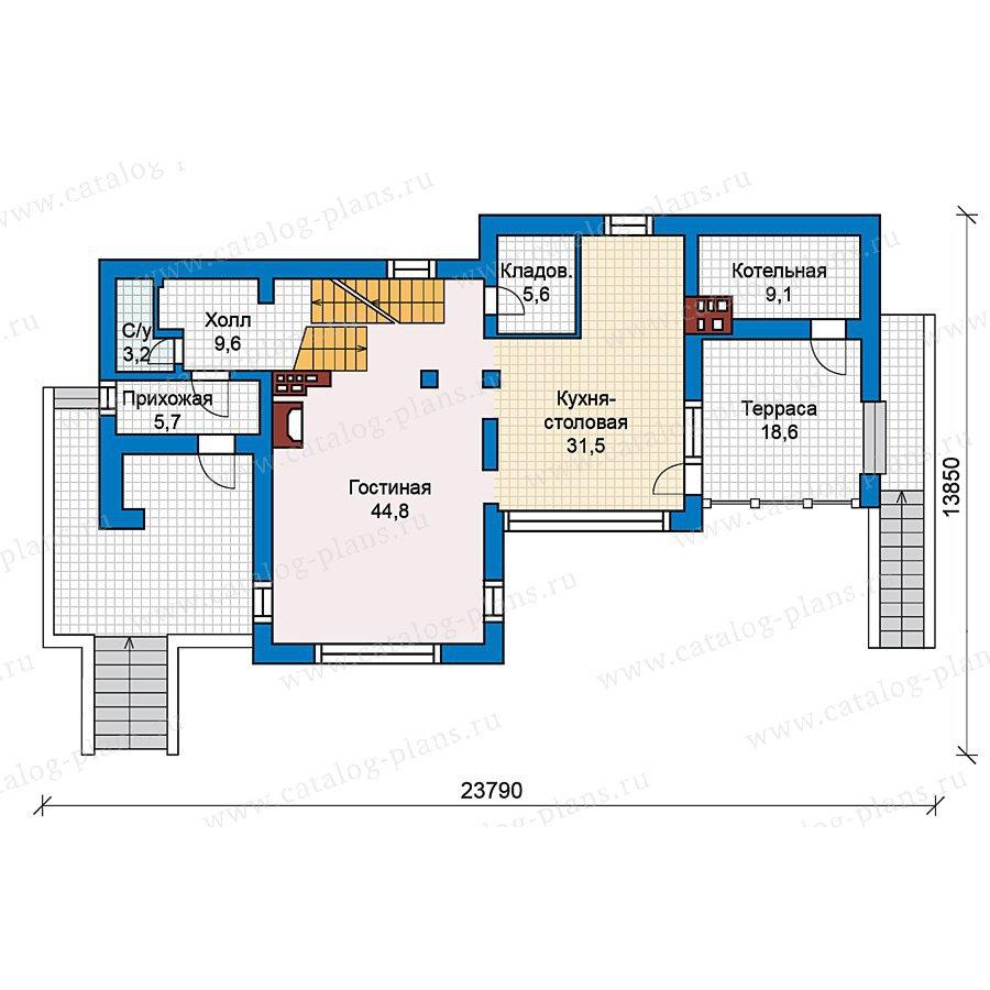 План 2-этажа проекта 49-66