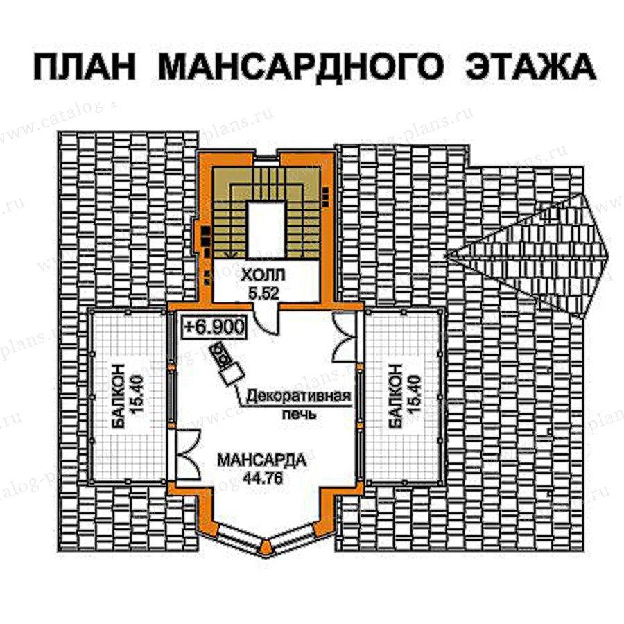План 4-этажа проекта 49-75