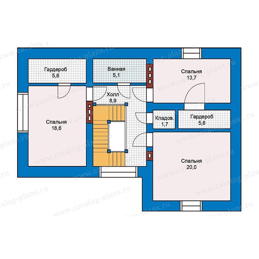 План 2-этажа проекта 49-60