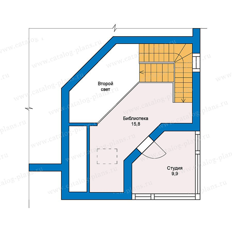 План 3-этажа проекта 49-53