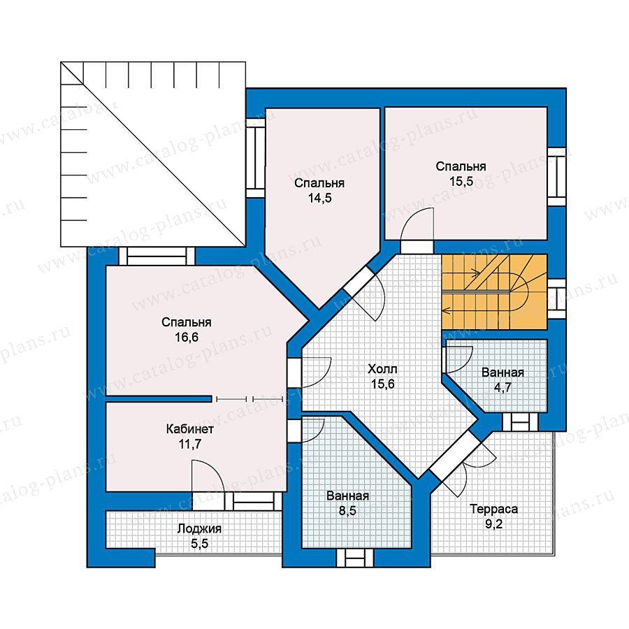 План 2-этажа проекта 49-53