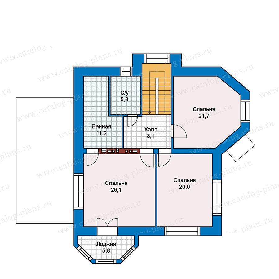 План 2-этажа проекта 49-72