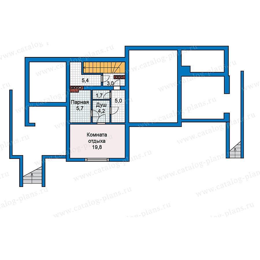 План 1-этажа проекта 49-66
