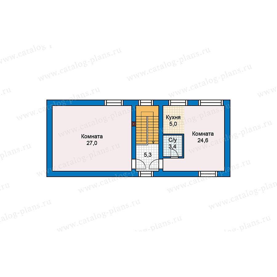 План 2-этажа проекта 60-81