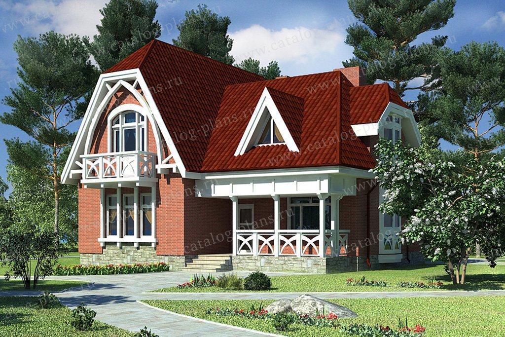 Проект жилой дом #49-59 материал - кирпич, стиль модерн