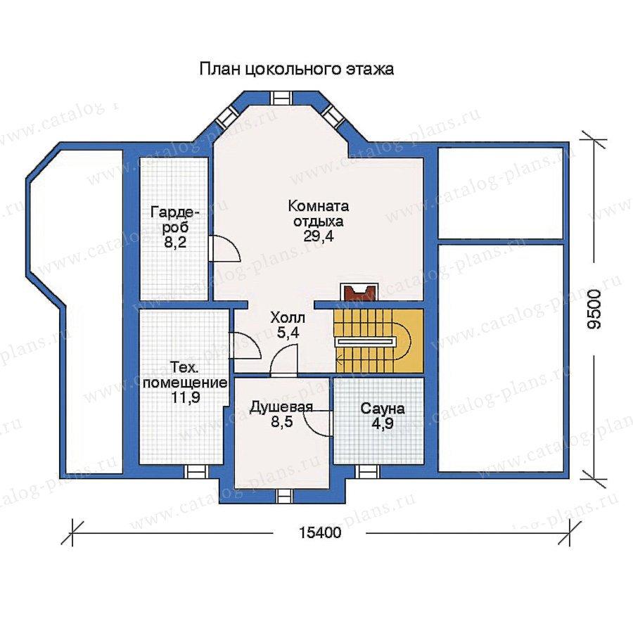 План 1-этажа проекта 50-10