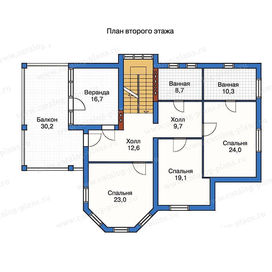 План 2-этажа проекта 50-18
