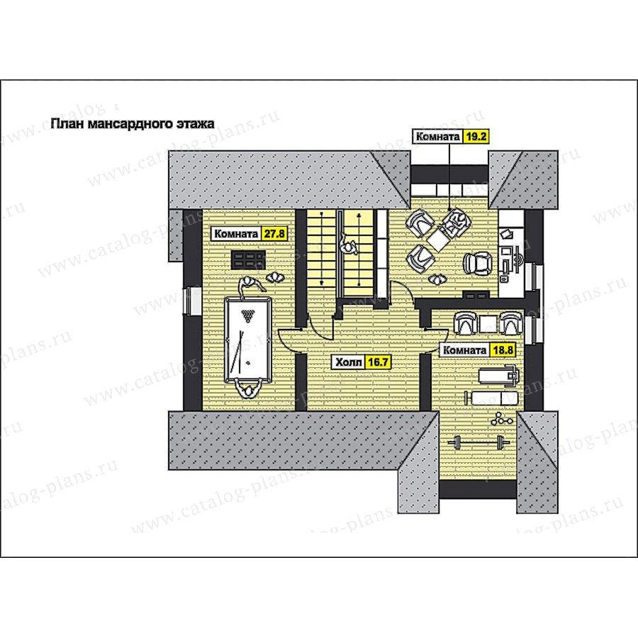 План 3-этажа проекта 49-83