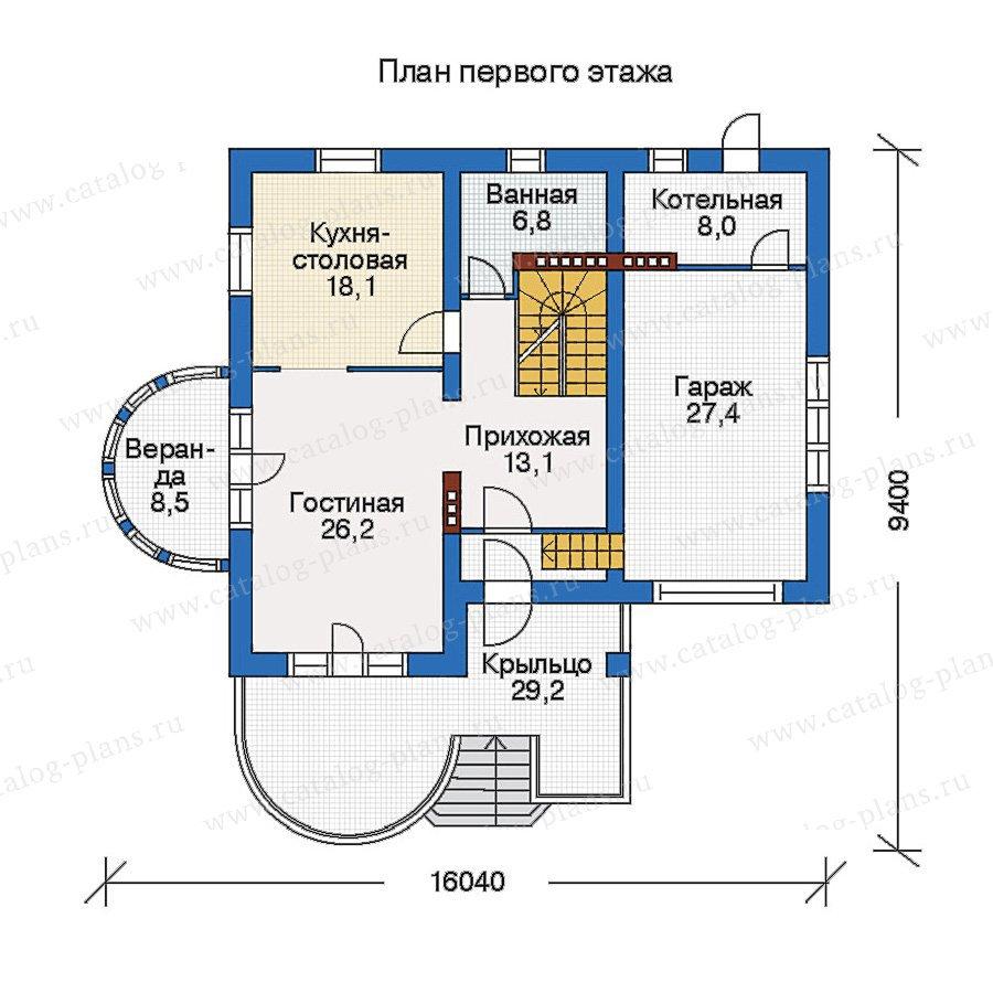 План 2-этажа проекта 50-21
