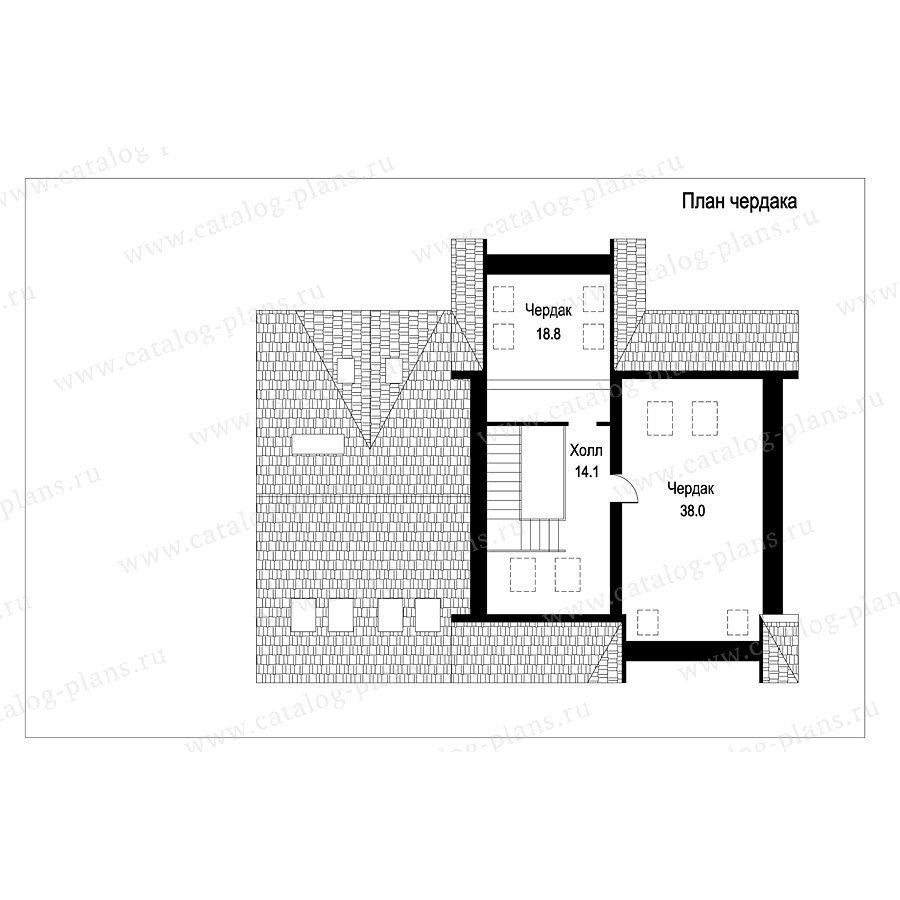 План 3-этажа проекта 49-87