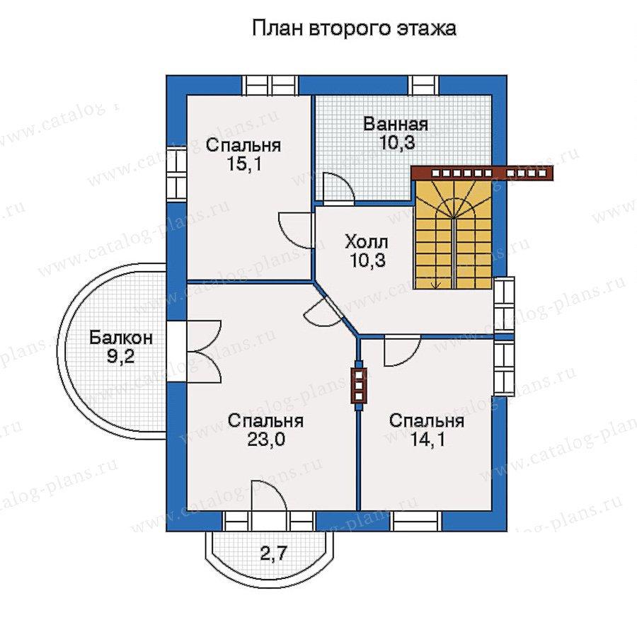 План 3-этажа проекта 50-21