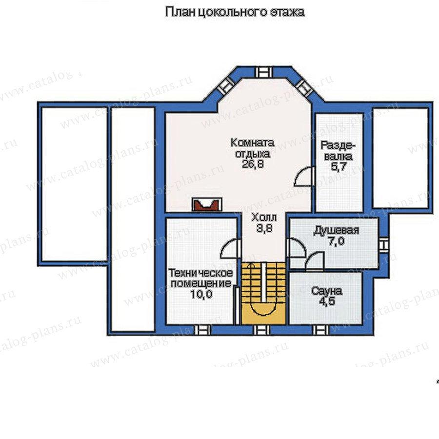 План 1-этажа проекта 50-09