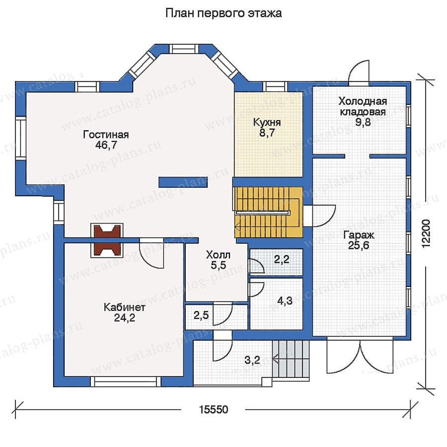 План 2-этажа проекта 50-05
