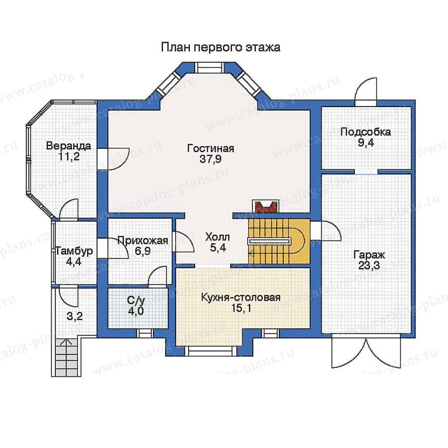 План 2-этажа проекта 50-10