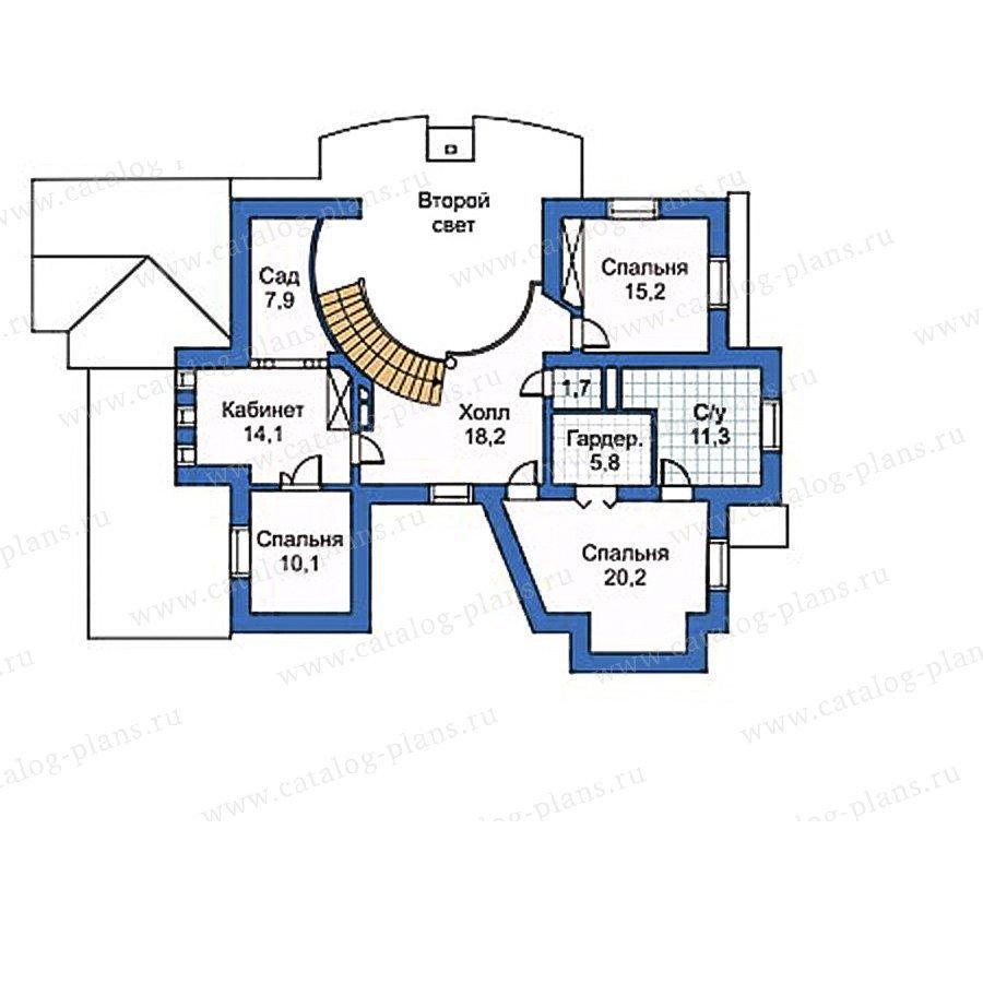 План 2-этажа проекта 50-24