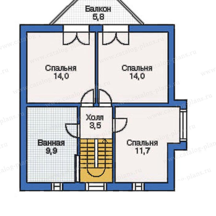 План 3-этажа проекта 50-09