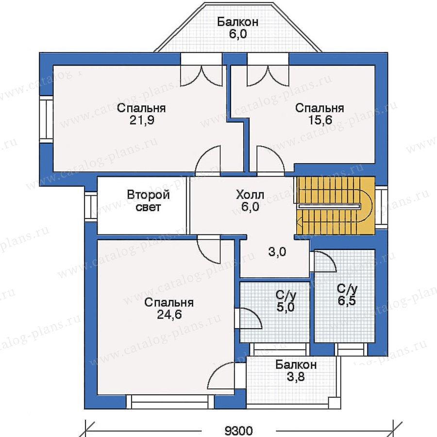 План 3-этажа проекта 50-05